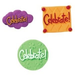Wilton Products . WIL CELEBRATION ICING DECS
