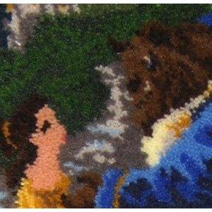 MCG Textiles . MCG BEAUTY BEAST LATCH HOOK