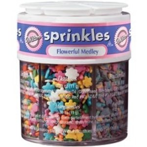 Wilton Products . WIL SPRINKLES FLOWERFUL MEDLEY ASST