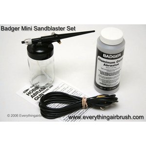 Badger Air.Brush Co . BAD ABRASIVE SAND GUN SET