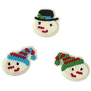 Wilton Products . WIL ICING DE SHIVER SNOWMAN