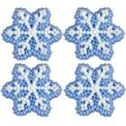 Wilton Products . WIL ICING DECS SNOWFLAKE PETITE