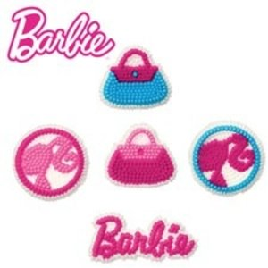 Wilton Products . WIL BARBIE ICING DECORATIONS