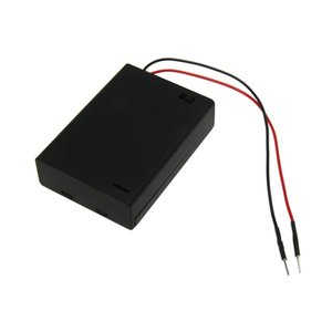 BPS . BPS 3AA BATT BOX W/SWITCH/PIN