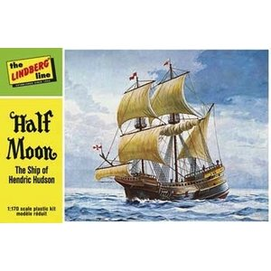 Lindberg . LND 1/200 HALF MOON SAILING SHIP