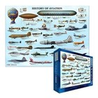 Eurographics Puzzles . EGP HISTORY OF AVIATION 1000PC