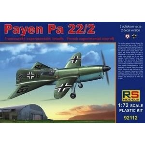 1/72 PAYEH PA 22/2 EXPRMNT AIR