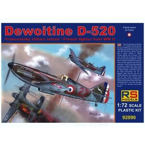 RS Models . RSM 1/72 DEWOITINE D520 FRENCH