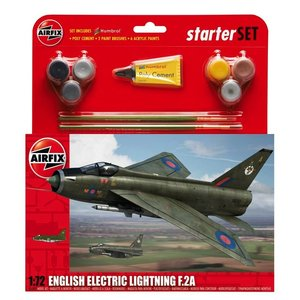 Airfix . ARX 1/72 ENGLISH ELECTRIC LIGHTING F2A GIFT SET