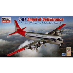 Minicraft Models . MMI C-97 ANGEL OF DELIVERANCE 1/144