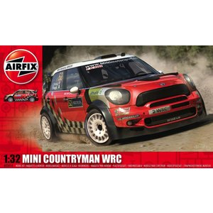 Airfix . ARX 1/32 MINI COUNTRYMAN WRC