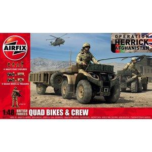 Airfix . ARX 1/48 BRIT QUAD BIKES/CREW