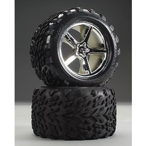 Traxxas Corp . TRA TIRES & WHEELS ASSMBLY