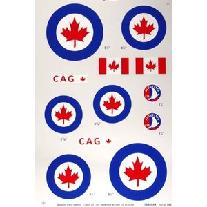 Major Decals . MAJ PRES DECAL CANADIAN .40