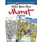 Dover Publishing . DOV MONET COLORING BOOK