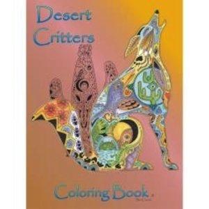 Earthart Coloring Books . EAC DESERT CRITTERS COLOR BK