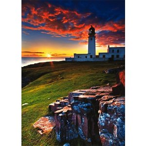 Trefl (puzzles) . TRF 1000 PC RUA REIDH LIGHTHOUSE