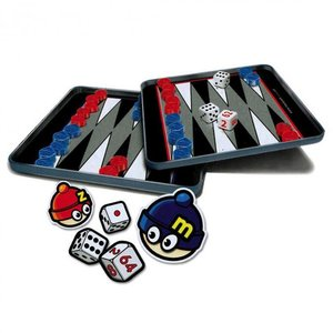MacK & Zack Toys . M&Z BACKGAMMON MAGNET TRAV GAME