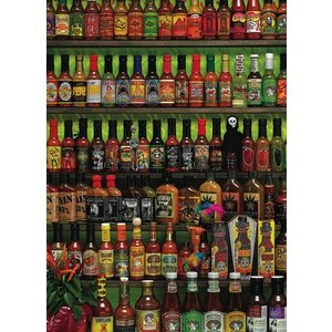 Cobble Hill . CBH HOT HOT SAUCE  1000 PC
