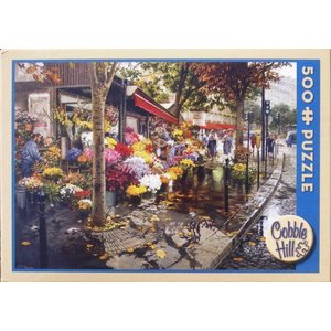 Cobble Hill . CBH PARIS IN THE FALL PUZZ 500PC