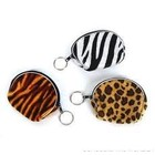 Rhode Island Novelty . RIN 4''SAFARI PRNT PURSE W/KEYRING