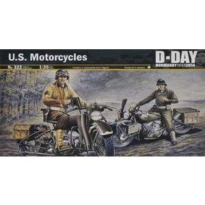 Italeri . ITA 1/35 US MOTORCYCLE WWII