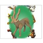 Puzzled Inc. . PUZ Antelope Wood Puzzle