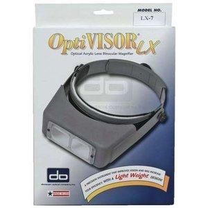 Donegan Optical Co. . DON OPTIVISOR LX/W/LENS #7