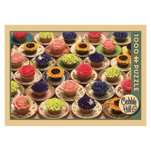 Cobble Hill . CBH CUPCAKES AND SAUCERS 1000 PC