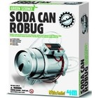 4M Project Kits . FMK Soda Can Robug Grn Science