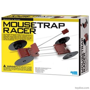 4M Project Kits . FMK MOUSETRAP RACER KIT