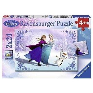 Ravensburger (fx shmidt) . RVB FROZEN SISTERS ALWAYS 2X24PC