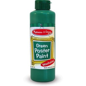 Melissa & Doug . M&D 8OZ GREEN POSTER PAINT