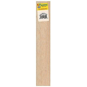 Midwest Products Co. . MID 1/32X2X36 BALSA