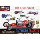 Monogram . MON 1/25 SLINGSTER DRAGSTER