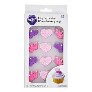 Wilton Products . WIL ICING DEC RYL PRINCESS B