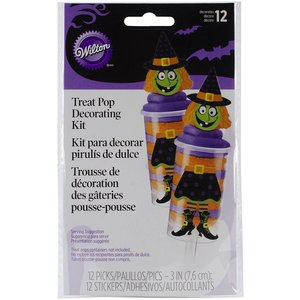 Wilton Products . WIL WITCH TREAT POPS KIT
