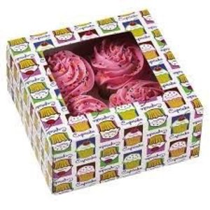 Wilton Products . WIL CUPCAKE BOX HOLDS 4