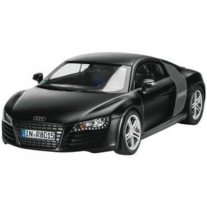 Revell of Germany . RVL 1/24 AUDI R8 BLACK