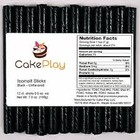 CakePlay . CPL BLACK ISOMALT STICKS