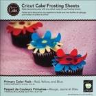 Provo Craft . PRV PRIMARY COLORS FROSTING SHEETS