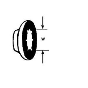 Plastruct . PLS 5/32 AXLE HUB CAP 20PC