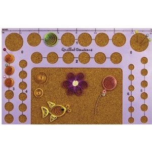 Quilled Creations . QUI QUILLING CIRCLE TEMPLATE BOARD