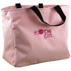 Hortense B. Hewitt Co. . HBH FLOWER GIRL PINK TOTE BAG