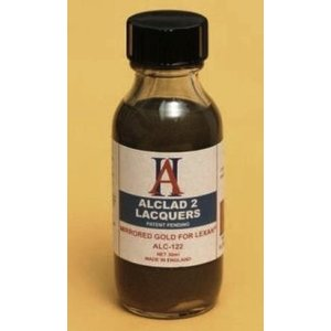 Alclad Paint . ALD MIRRORED GOLD FOR LEXAN 1OZ