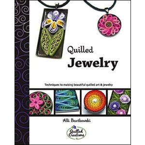 Quilled Creations . QUI QUILLED JEWELRY BOOK