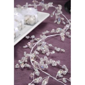 Victoria Lynn Collection . VLC MIXED BEAD CLUSTER / WH