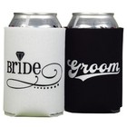 Hortense B. Hewitt Co. . HBH BRIDE/GROOM CAN COOLERS