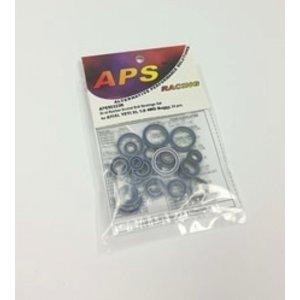 APS Racing . APS DUAL RUB SLD BALL/B  YETI XL