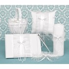 Hortense B. Hewitt Co. . HBH 5PC RUFFLE SET WHT